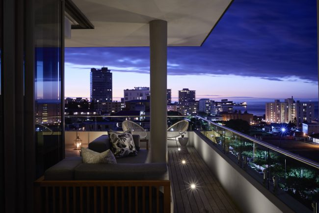 Client: Berman Brothers Properties. Penthouse Apartment 801, Odyssey, 197 Main Road, Greenpoint, Cape Town, South Africa.