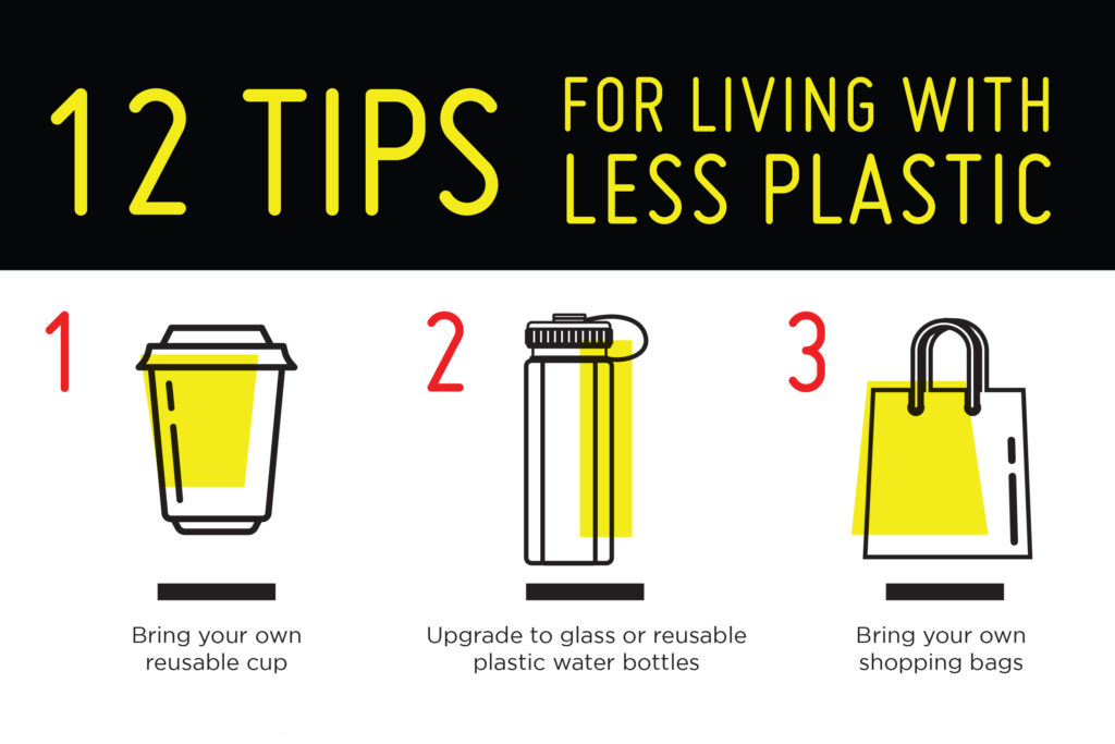 12 tips for living with less plastic